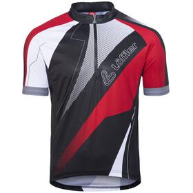Löffler HZ Koszulka kolarska, krótki rękaw Mężczyźni czerwony